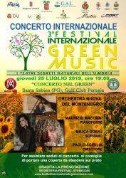 25/7/2019 Concerto nel Green - Orchestra Nuova del Montenegro